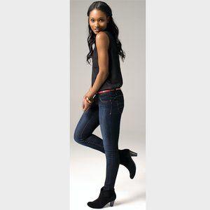 Blue Asphalt Dark Blue Denim Skinny Jeans